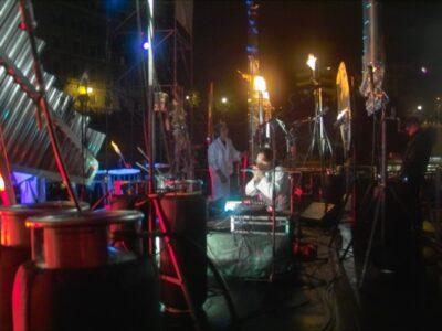 Live concert at Coloseo Rome with Gaudi and Michel Moglia