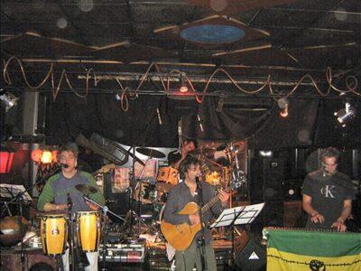 W.D.X reggae band live in Milan 2008